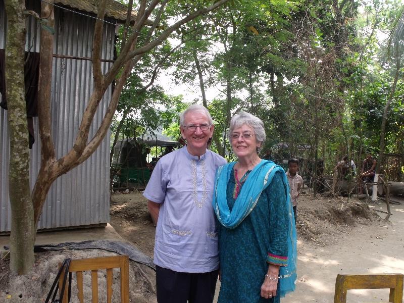 Harold and Sandra in Bangladesh