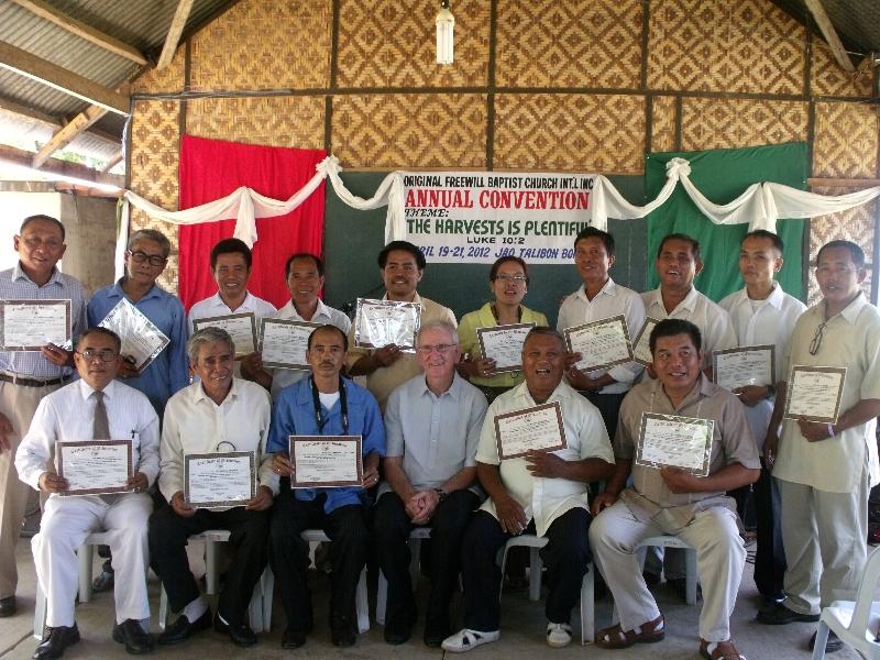 Talibon, Bohol - Annual Convention - April 19-21, 2012